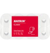 Toilettenpapier Classic Toilet 250 104773 2-lagig 8 Rollen