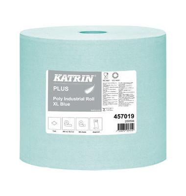 Wischtücher 457019 Plus Poly Roll XL blue 1-lagig 1 Rolle