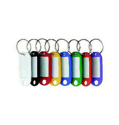 Schlüsselanhänger mit Ring 8-fach sortiert 200 Stück