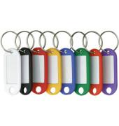 Schlüsselanhänger mit Ring sortiert 10 Stück