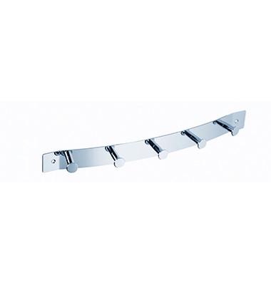 Garderobenleiste 2835 40,5 x 3,5 x 6 cm silber