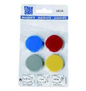 Magnete 683A rund BK sortiert D 32 mm 4 St