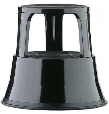 Rollhocker 895 schwarz Metall 40cm hoch