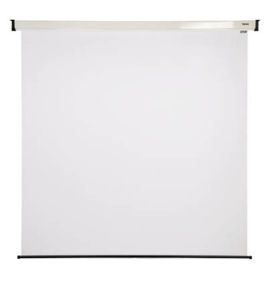 Rollo Projektionsleinwand weiß 200 x 200cm