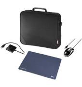 Notebooktasche Sportsline Basic Set schwarz bis 15,4 Zoll