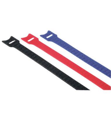 Klettkabelbinder Ny bis D50mm ro/bl/sw 11x200mm 12 St