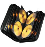 CD/DVD-Wallet Nylon 80 m.Tragegurt schwarz 30x17x7,5cm f.80 CDs