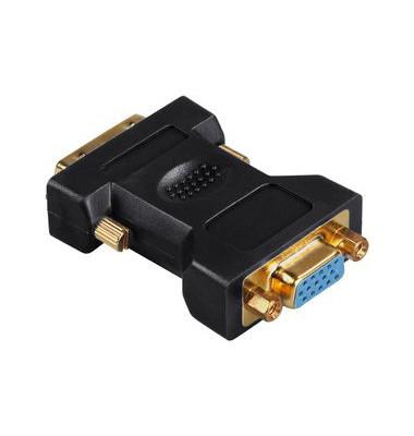 Adapter DVI auf 15-pol. HDD Stecker auf Kupplung analog