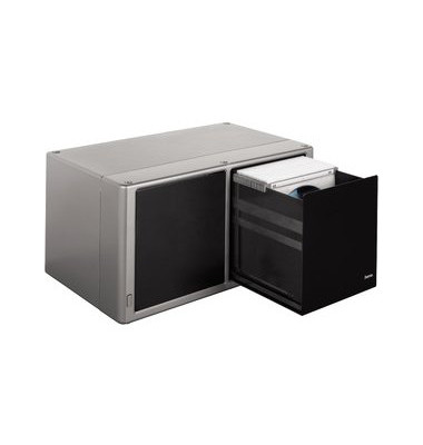 CD-Ablage Magic Touch 120 sw/si 34x20x17cm f.120CDs