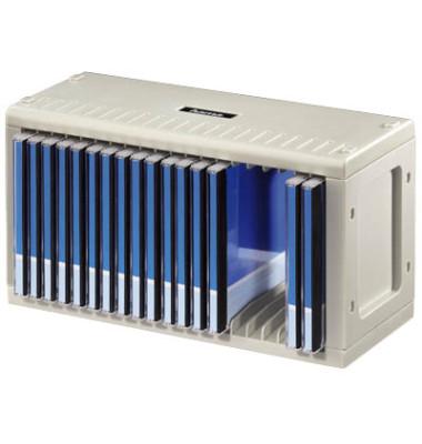 CD-Rom Rack 20 grau 28,9x12,5x15