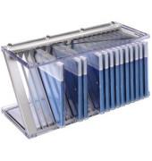 51136  Nexus 20 CD und Office Rack silber für 20 CD