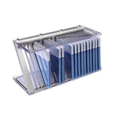 CD und Office Rack Nexus 20 silber für 20 CD