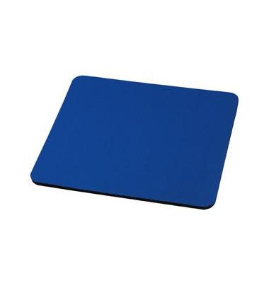 Mauspad Textiloberfläche blau 22x18cm