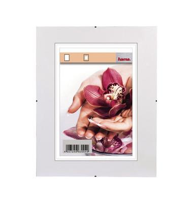 Rahmenloser Bilderhalter Clip-Fix 60 x 84cm PS-Glas