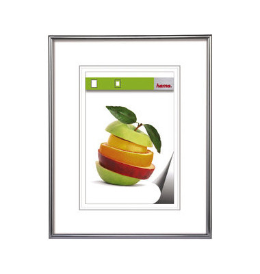 Bilderrahmen Sevilla silber 40 x 50 cm PS - Glas