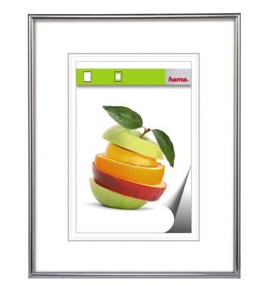 Bilderrahmen Sevilla silber 40 x 60 cm PS - Glas