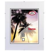 Rahmenloser Bilderhalter Clip Fix antireflex 50 x 70cm