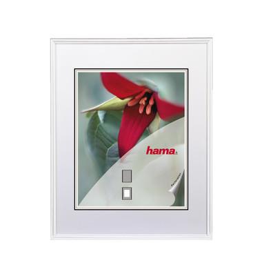 Bilderrahmen Sevilla weiß 24 x 30 cm Glas