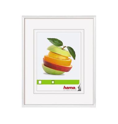Bilderrahmen Sevilla weiß 30 x 45 cm Glas
