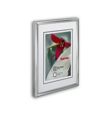 Bilderrahmen Sevilla Kunststoff matt silber 21x29,7cm