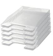 Briefablage 1024 Junior A4 / C4 glasklar stapelbar