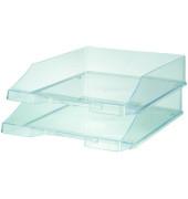 Briefablage 1026 A4 / C4 farblos-transparent stapelbar