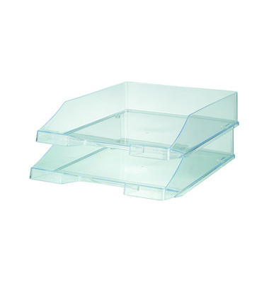 Briefablage 1026 A4 / C4 farblos-transparent stapelbar