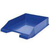Briefablage Klassik 1027-X-14 A4 / C4 blau Kunststoff stapelbar
