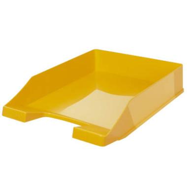 Briefablage 1027 A4 / C4 gelb stapelbar