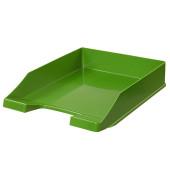 Briefablage Klassik 1027-X-05 A4 / C4 grün Kunststoff stapelbar