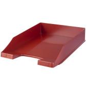 Briefablage Klassik 1027-X-17 A4 / C4 rot Kunststoff stapelbar