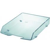 Briefablage Wave Exclusiv 1028-23 A4 / C4 glasklar Kunststoff stapelbar