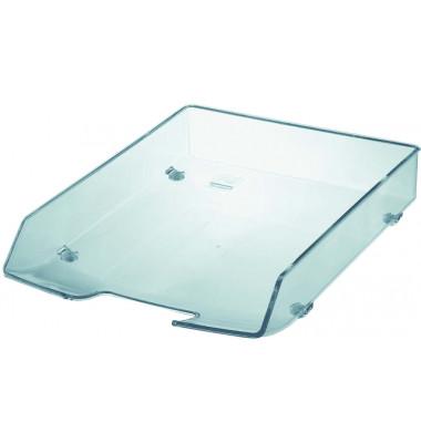 Briefablage 1028 Wave Exclusiv A4 / C4 glasklar stapelbar