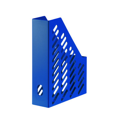 Stehsammler 1601-11 Klassik 76x248x320mm A4 Kunststoff blau