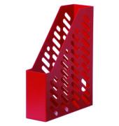 Stehsammler KLASSIK 76 x 248 x 320mm A4 Gitterform Kunststoff rot