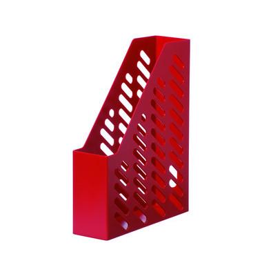 Stehsammler 1601-11 Klassik 76x248x320mm A4 Kunststoff rot