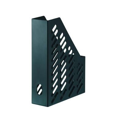 Stehsammler KLASSIK 76 x 248 x 320mm A4 Gitterform Kunststoff schwarz