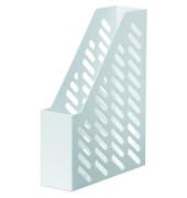 Stehsammler KLASSIK 76 x 248 x 320mm A4 Gitterform Kunststoff weiß