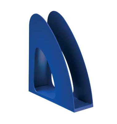 Stehsammler 1610-14 Twin 76x239x257mm C4 Polystyrol blau