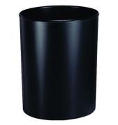 Papierkorb 1818, 20 Liter flammhemmend schwarz