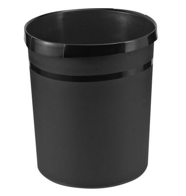Papierkorb 18190 GRIP 18 Liter schwarz