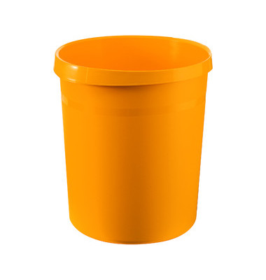 Papierkorb 18190 GRIP 18 Liter gelb