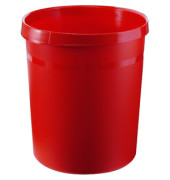 Papierkorb 18190 GRIP 18 Liter rot