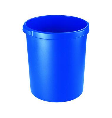Papierkorb 1834, 30 Liter blau