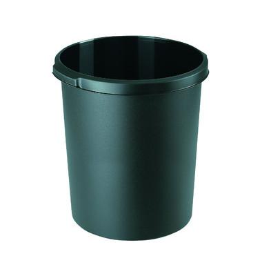 Papierkorb 1834, 30 Liter schwarz