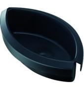 Abfalleinsatz 1 Liter schwarz