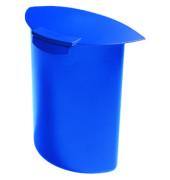 Abfalleinsatz MOON mit Deckel für 18190 blau