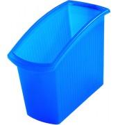 Papierkorb 1840 Mondo 18 Liter blau-transluzent