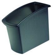 Papierkorb 1840 Mondo 18 Liter schwarz
