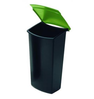 Abfalleinsatz MONDO 3 Liter grün mit Deckel